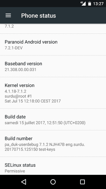 How to install Paranoid Android 7.2 on Xiaomi Mi5s Plus