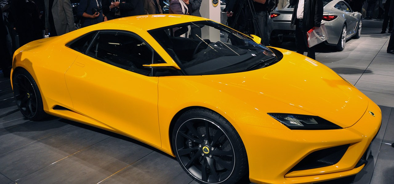 Lotus Reveals Five New Concept Cars In Paris 1