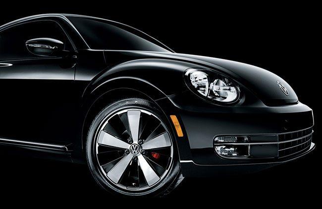 2012 Volkswagen Beetle Black Turbo Edition