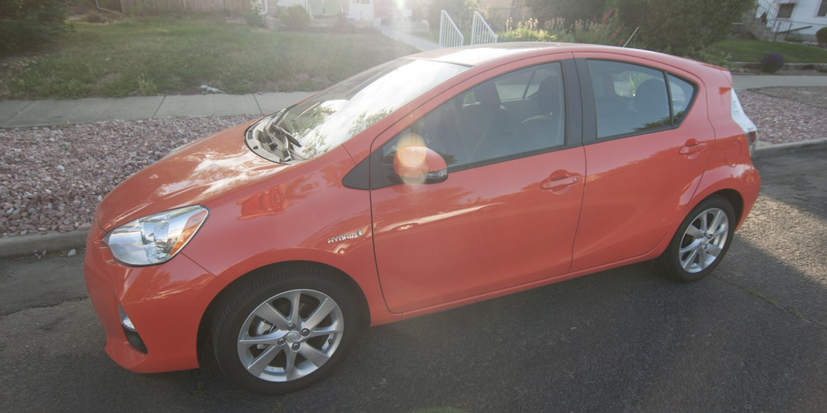 Toyota Prius C Review -- Review 1