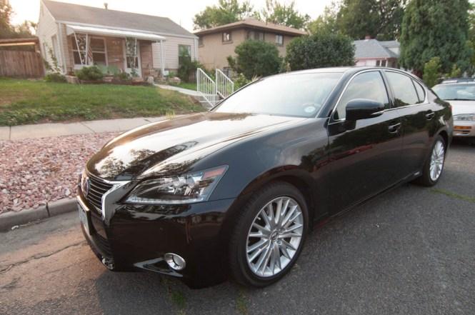 2013 Lexus GS 450h Review Behind the Wheel ZipRage-3
