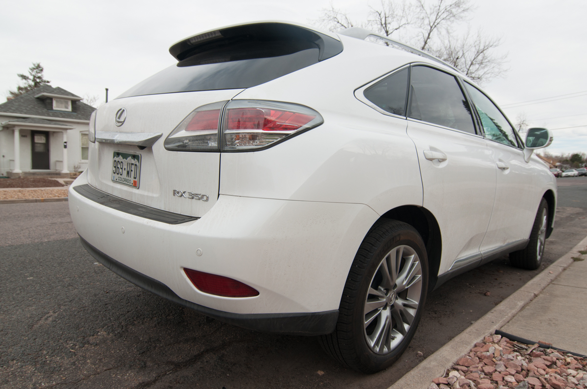 2013 Lexus RX 350 Review -- Review 7