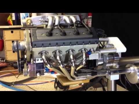 Handmade 45 Cubic Centimeter V8 That Sounds Like The Real Deal 7