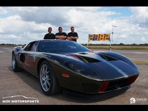 How To Get A Ford GT To Do 278 MPH At The Texas Mile 2