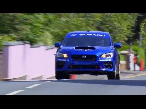 Finally, Video of Subaru Breaking The Isle Of Man Production Car Record with the 2015 WRX STI 14