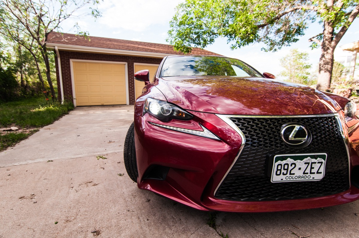 2014 Lexus IS350 F Sport AWD    Review