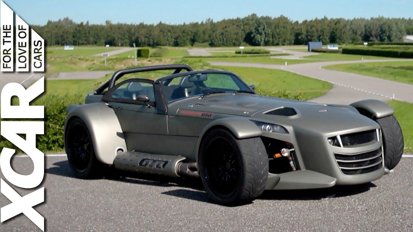 Turbocharged Carbon Fibre Lotus 7 Gear Amp Grit