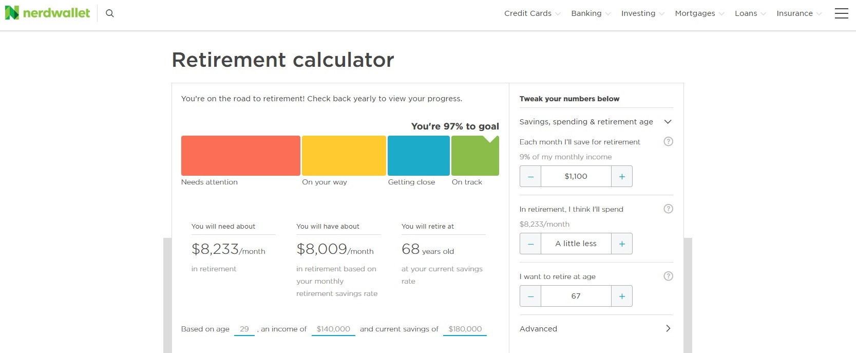 This Dead Simple Retirement Calculator Tells You How Much to Save Monthly 5