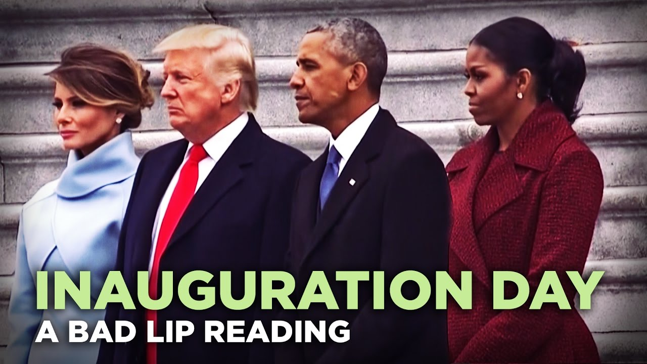 A 'Bad Lip Reading' of Trump's Inauguration 7