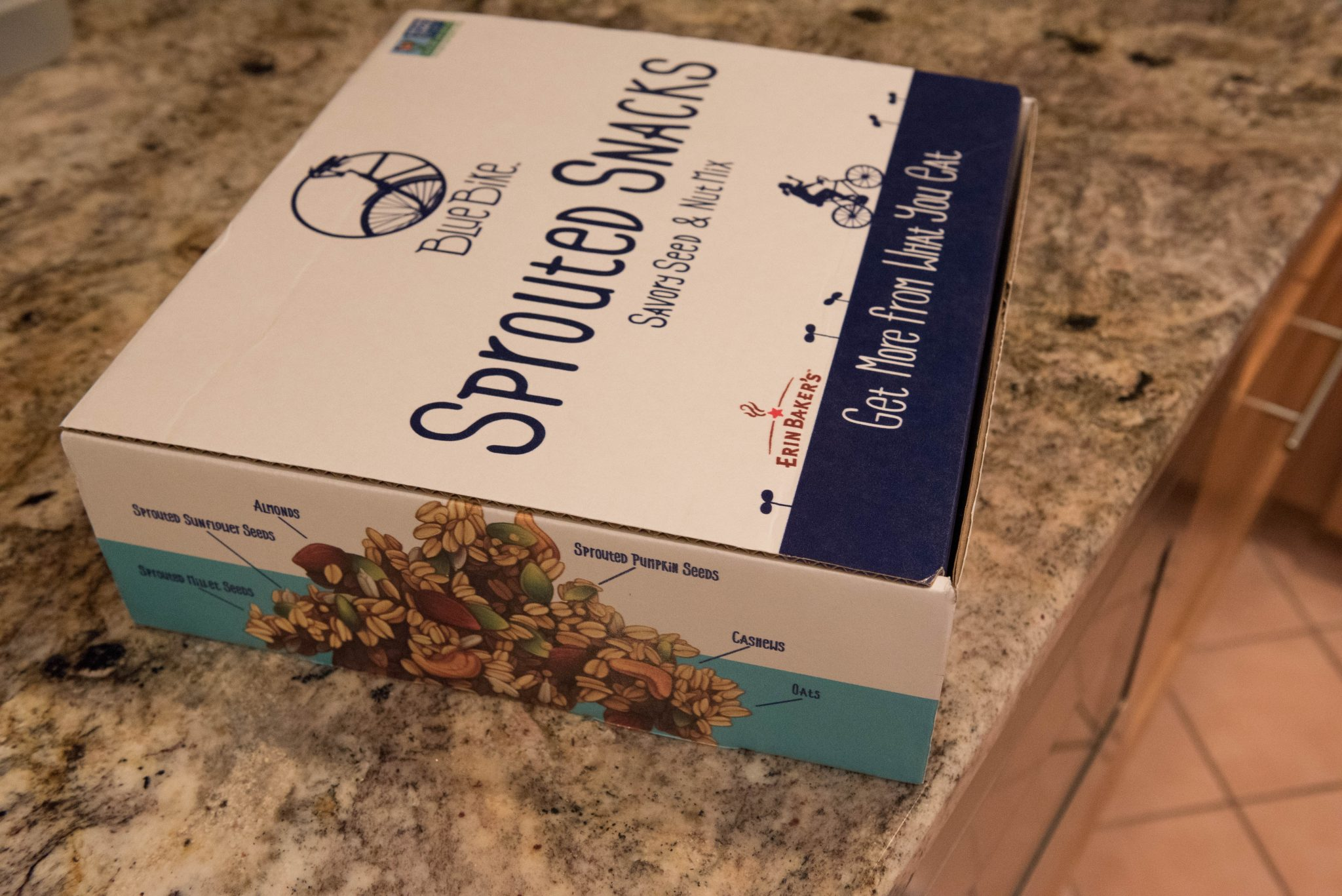 Review: Erin Baker's Blue Bike Sprouted Snacks 7