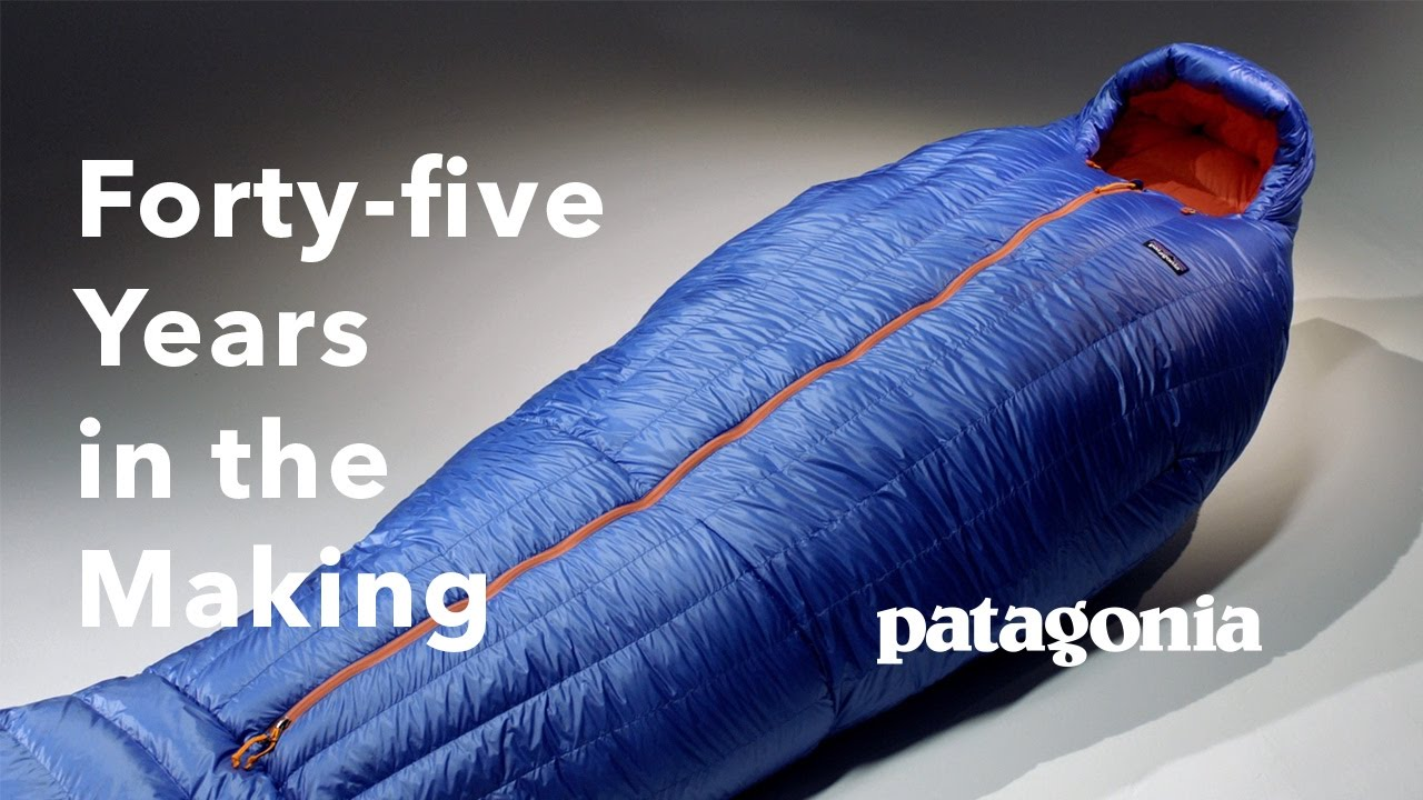 Patagonia Finally Launches a Sleeping Bag 22