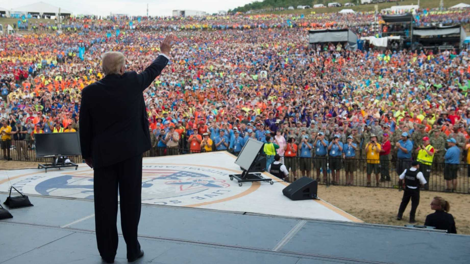 The Boy Scout's Apology for Trump's Speech is Too Little Too Late 16