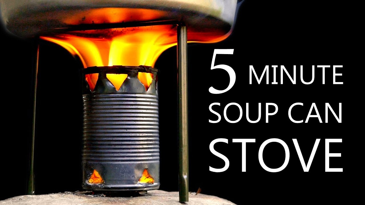 How to Build a Camp Stove Out of a Recycled Soup Can 4