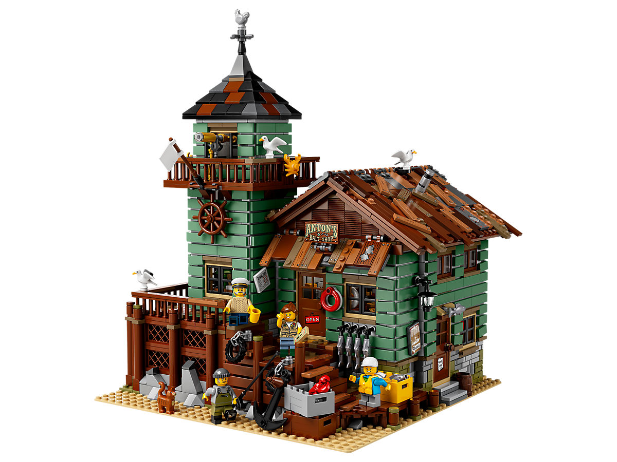 LEGO Old Fishing Store 9