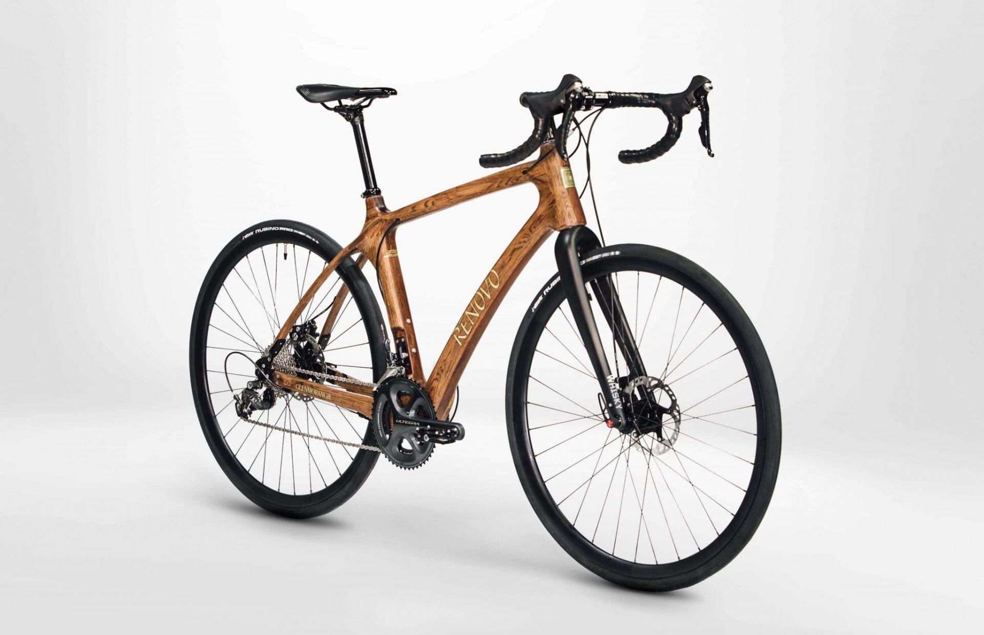 Renovo x Glenmorangie - Wooden Bikes from Whisky Casks 7