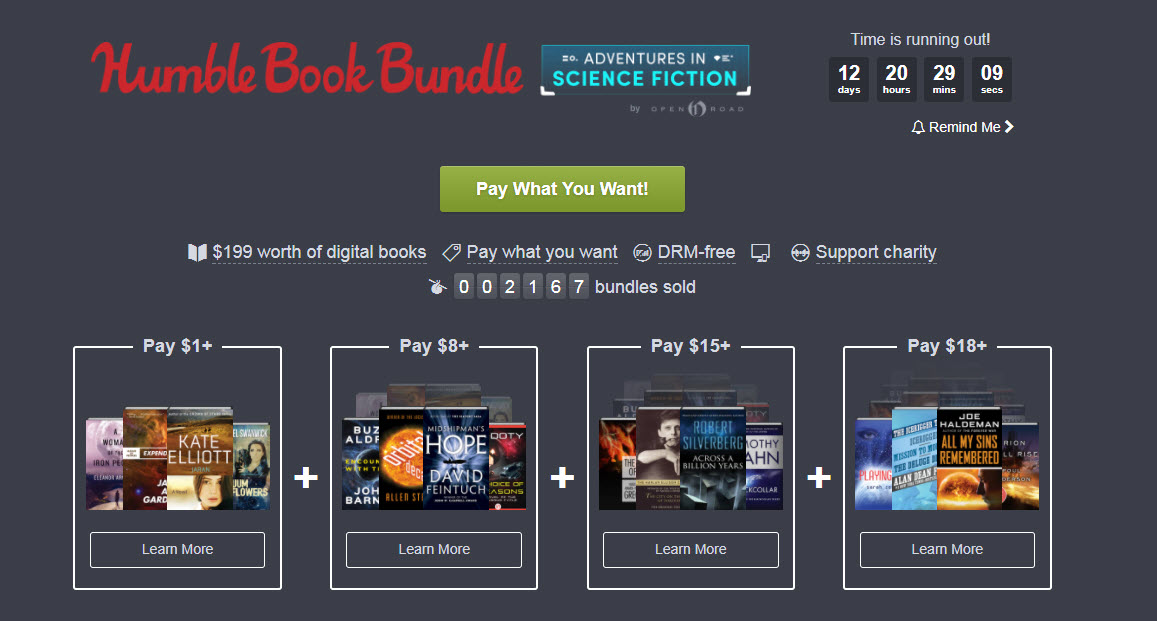 Name Your Own Price For 24 DRM-Free Science Fiction Ebooks 12