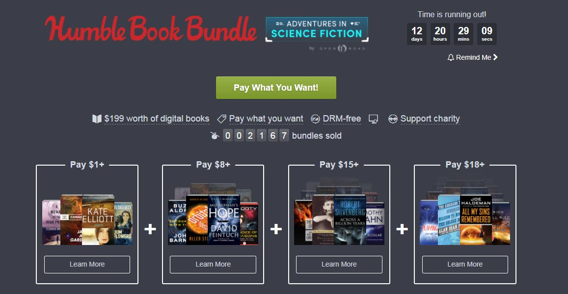 Name Your Own Price For 24 DRM-Free Science Fiction Ebooks 1