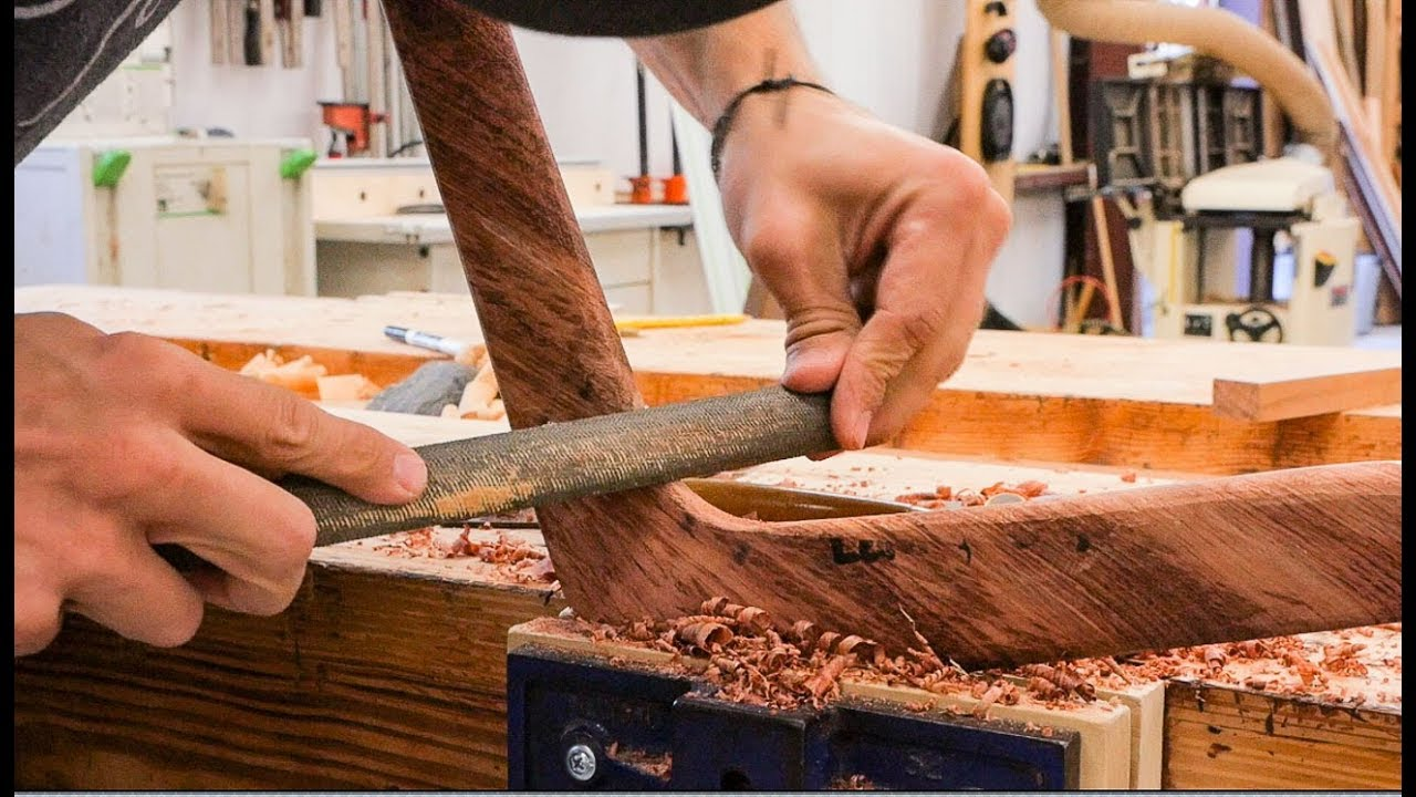 Watch a Guy Carve A Boomerang From Brazilian Ipe 3