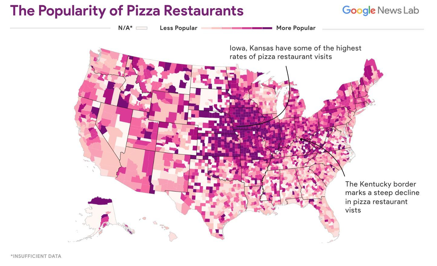 Restaurant Preferences in the U.S. Mapped 12