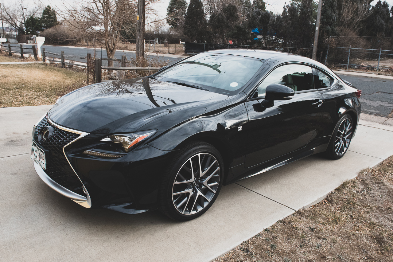 2017 Lexus RC 350 F-Sport Review 23