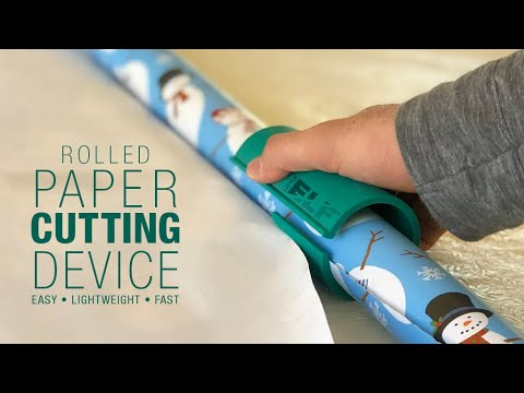 Little ELF Wrapping Paper Cutter 12