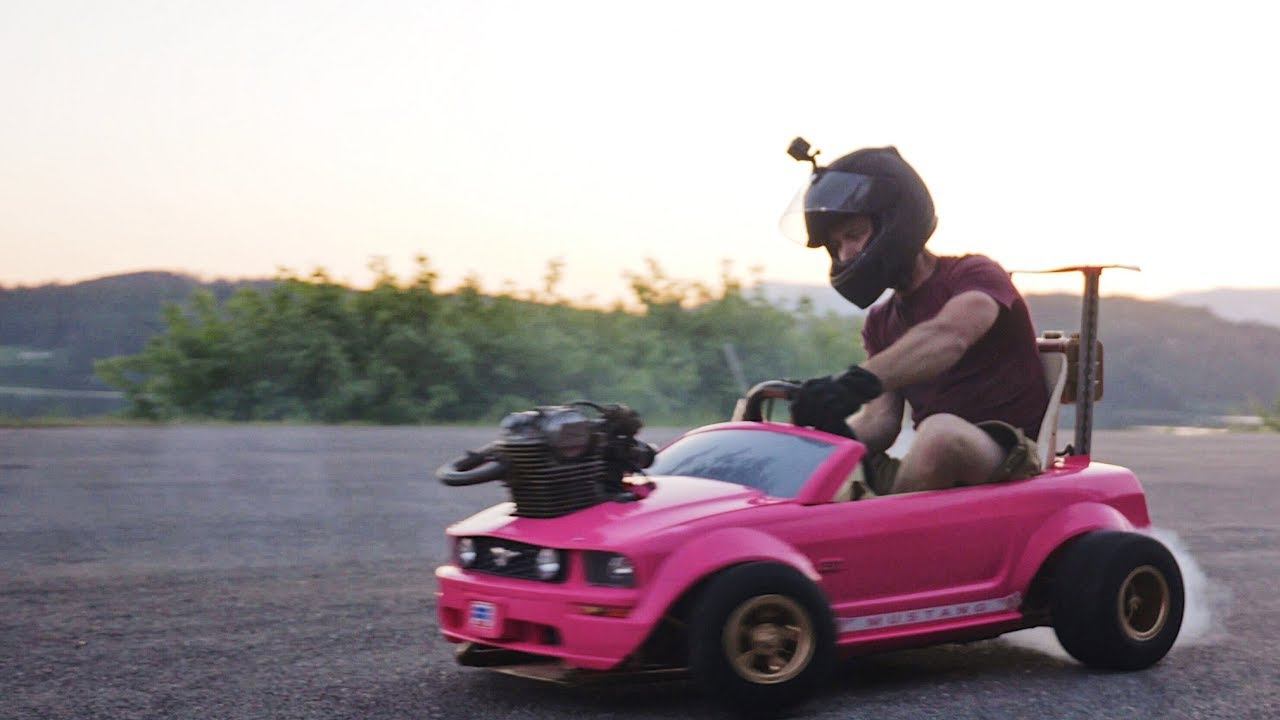 Woah, Modded Barbie Power Wheels Goes 70 mph 7