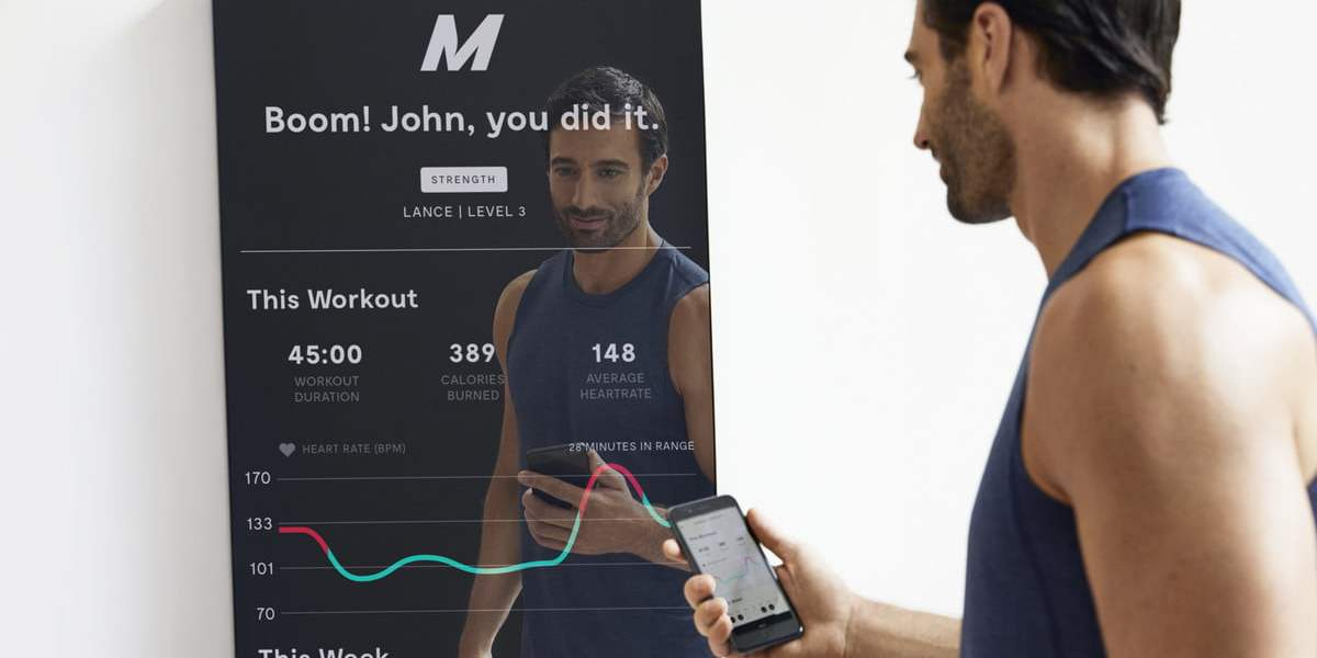 "Replace your Gym Membership with a Fitness ""Mirror"" 1"