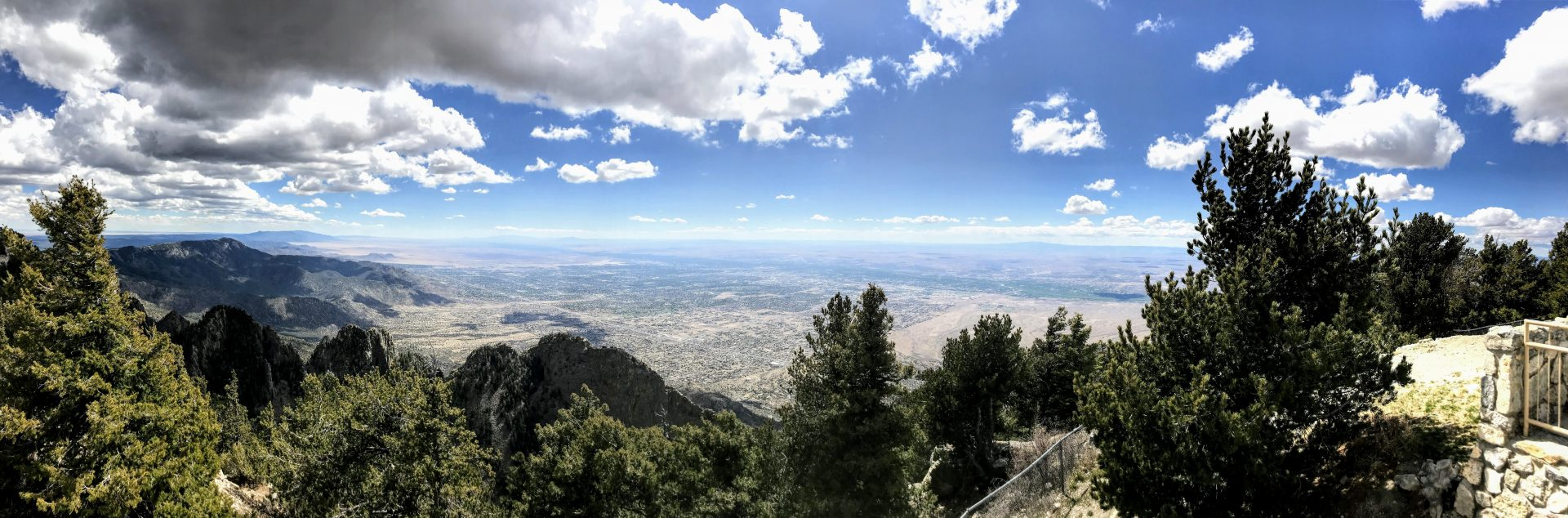 Cycling the Sandia Crest 12