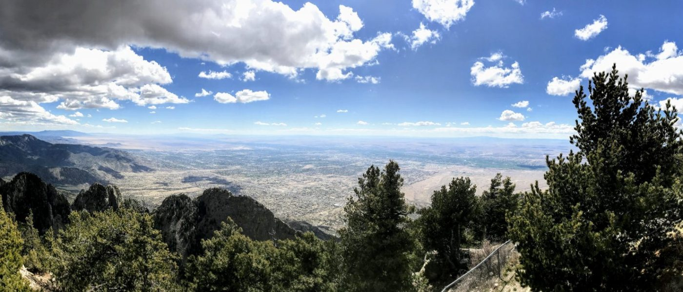 Cycling the Sandia Crest 1