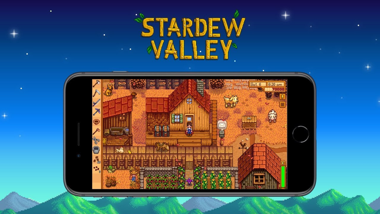 Stardew Valley is coming to the iPhone 12