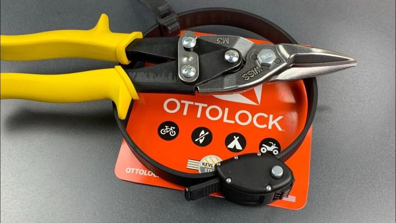 Ottolock Bike Lock Cut in 2 Seconds Flat!