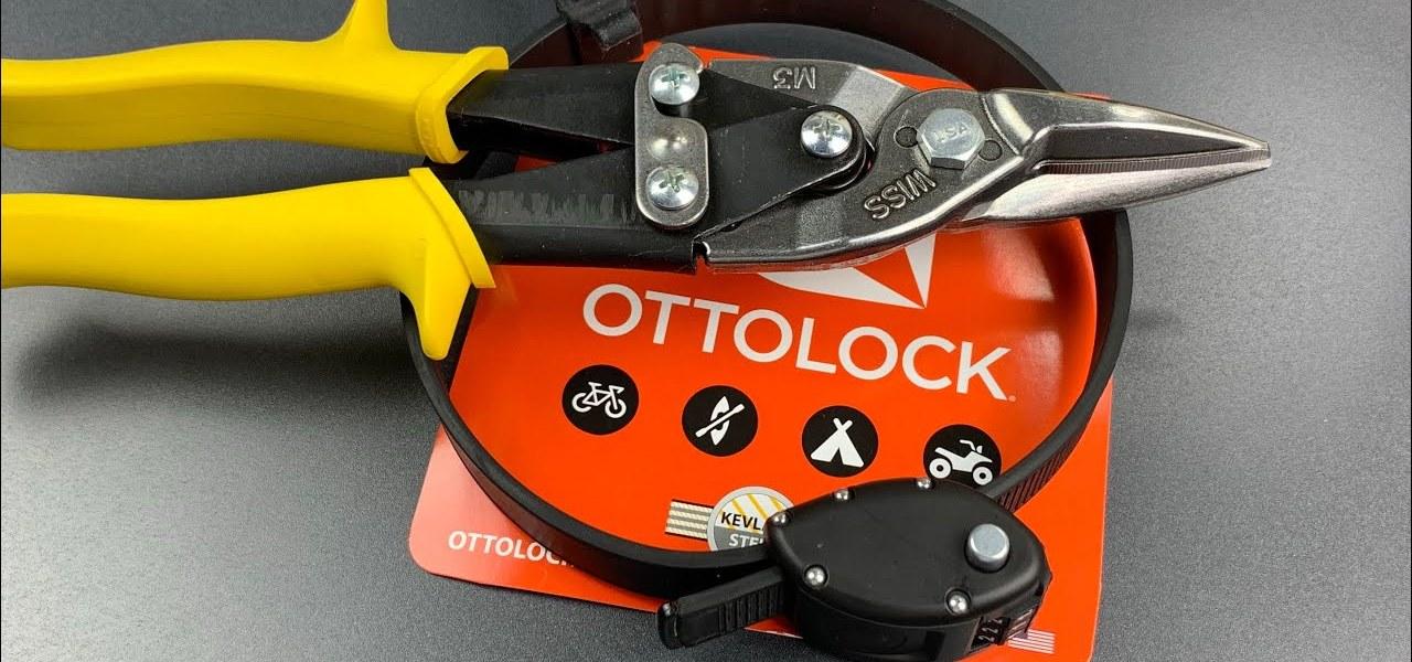 Ottolock Bike Lock Cut in 2 Seconds Flat! 1