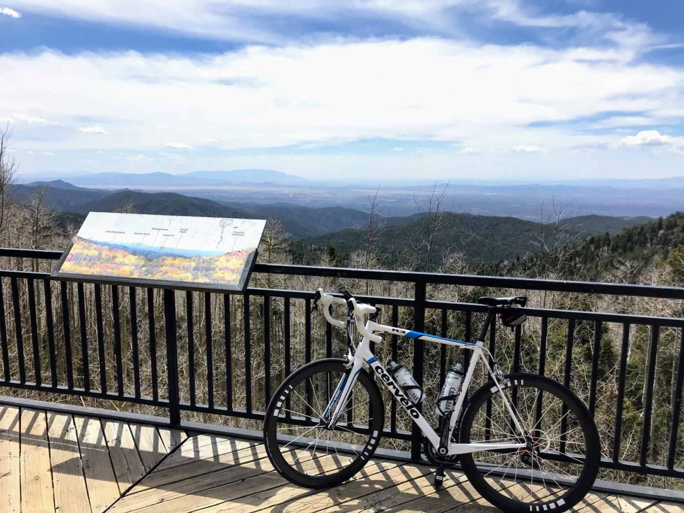 Cycling to the Santa Fe Ski Basin 3
