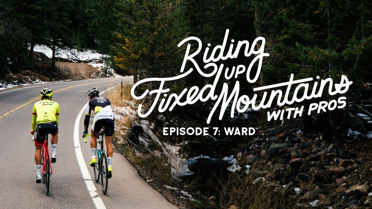 Riding Fixed, Up Mountains, With Pros. w/ Toms Skujiņš 5