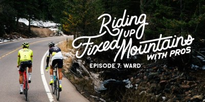 Riding Fixed, Up Mountains, With Pros. w/ Toms Skujiņš