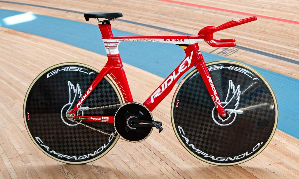 Victor Campenaerts Sets Hour Record on Custom Ridley 7