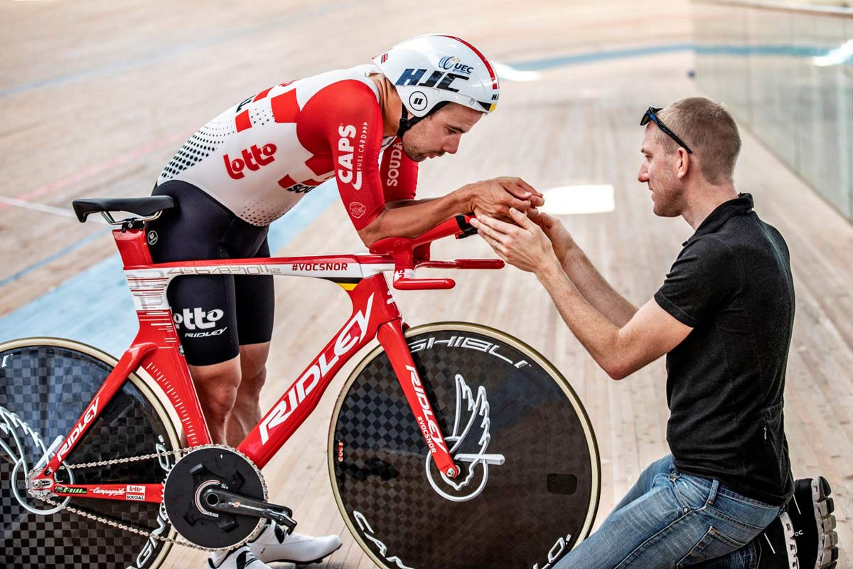 Victor Campenaerts Sets Hour Record on Custom Ridley 10