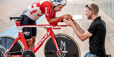 Victor Campenaerts Sets Hour Record on Custom Ridley