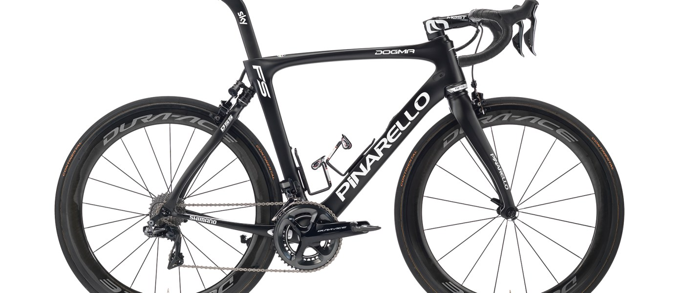 Pinarello Launches Dogma FS with Electronic Self-adjusting Suspension 1