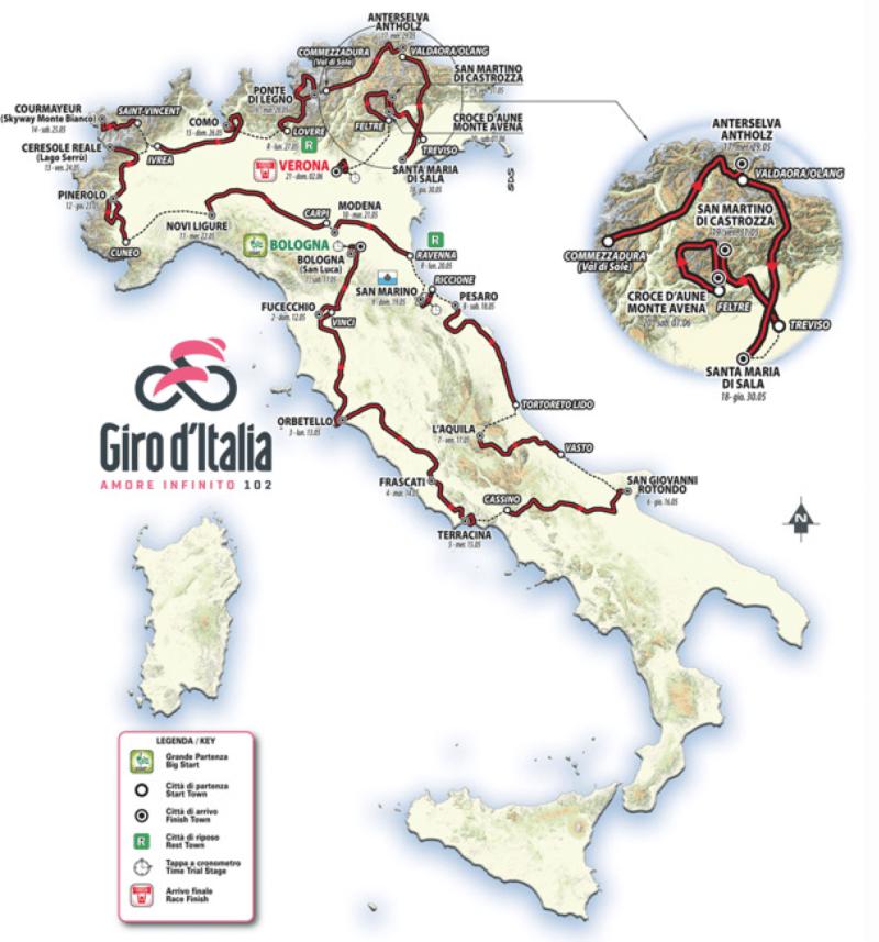 Giro d'Italia 2019 Preview 2