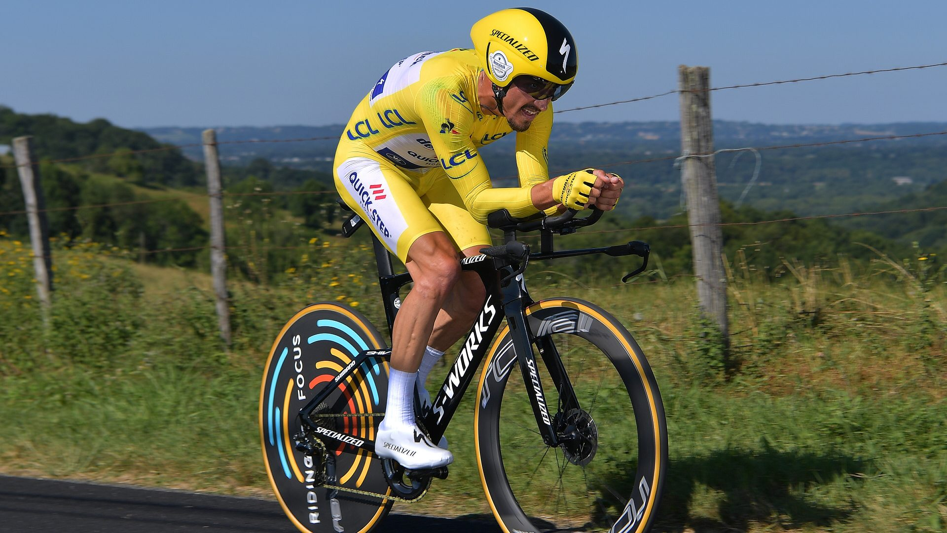 Julian Alaphilippe Crushes 2019 Tour de France Stage 13 Time Trial 27