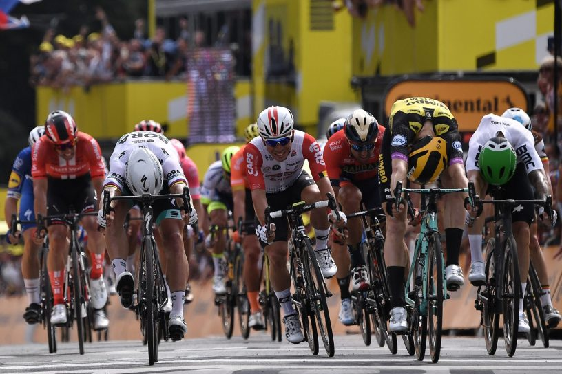 Elia Viviani Sprints to 2019 Tour de France Stage 4 Win