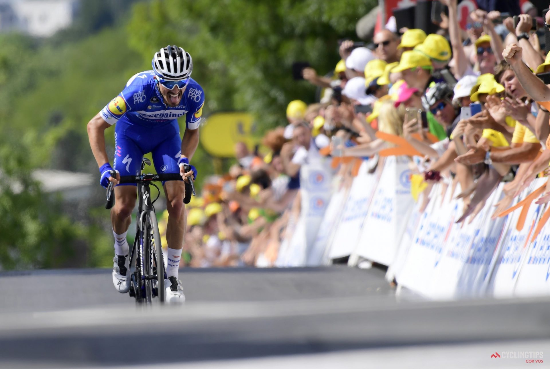 Alaphilippe Takes Stage 3 Tour de France Victory 12