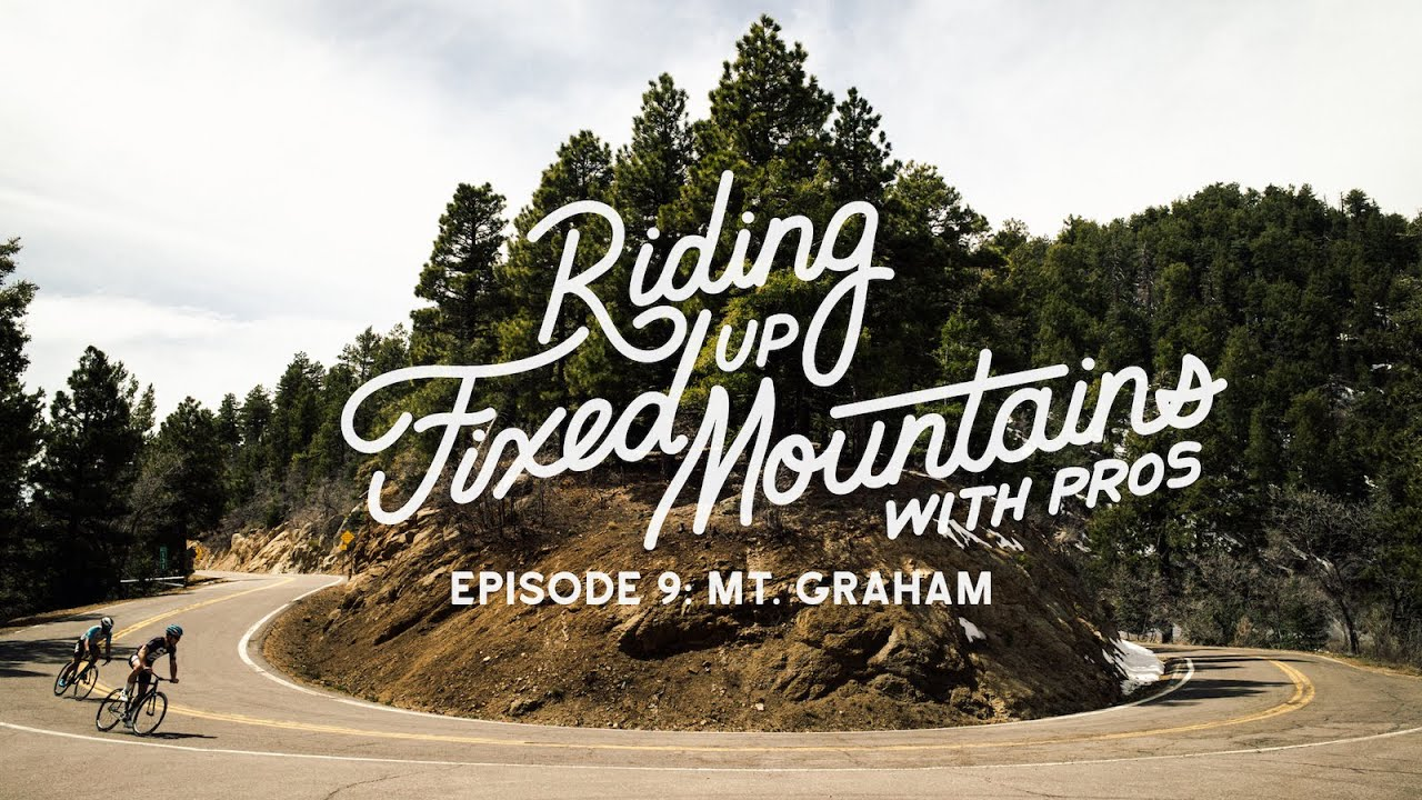 Riding Fixed, Up Mountains, With Pros. - Ep. 9 Mt. Graham w/ Eric Marcotte 3