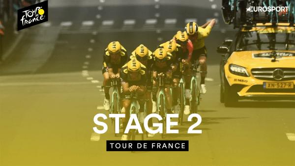 Jumbo-Visma Takes Decisive TTT Win in 2019 Tour de France Stage 2 21