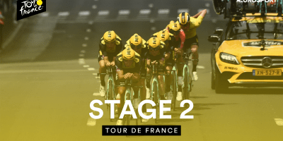 Jumbo-Visma Takes Decisive TTT Win in 2019 Tour de France Stage 2