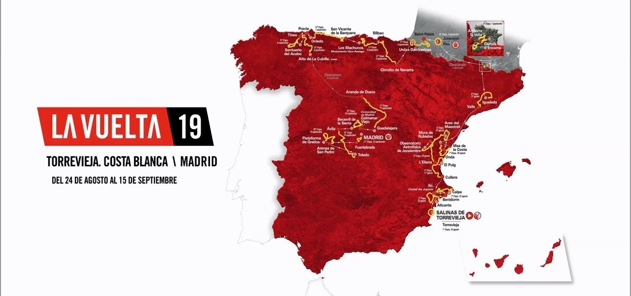2019 Vuelta a Espana Guide: Route, Stage Previews, Start List & How to Watch 1