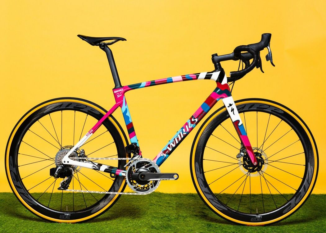 Romance X Parra One-Off Custom S-works Roubaix 6