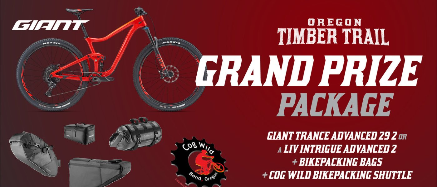 Help Raise Money for the Oregon Timber Trail and Win a Giant Trance 1