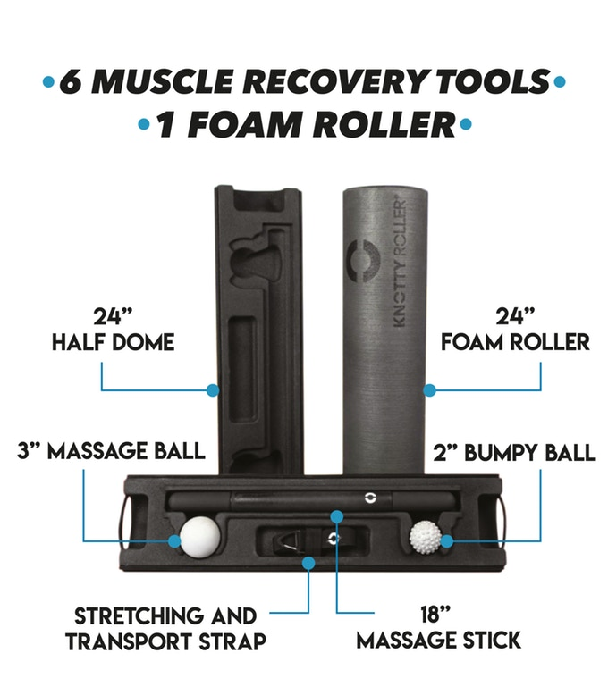 Knotty Roller - the Swiss Army Knife of Muscle Recovery 5